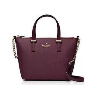 Kate Spade Harmony Crossbody in Mulled Wine